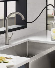 Delta And Moen Kitchen Faucets